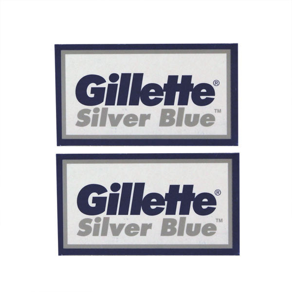 Primary image of Silver Blue Double Edge Razor Blades - 10 Pack
