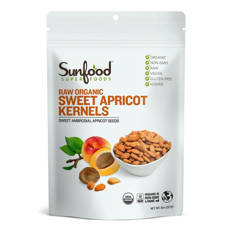 Primary image of Raw Organic Sweet Apricot Kernels