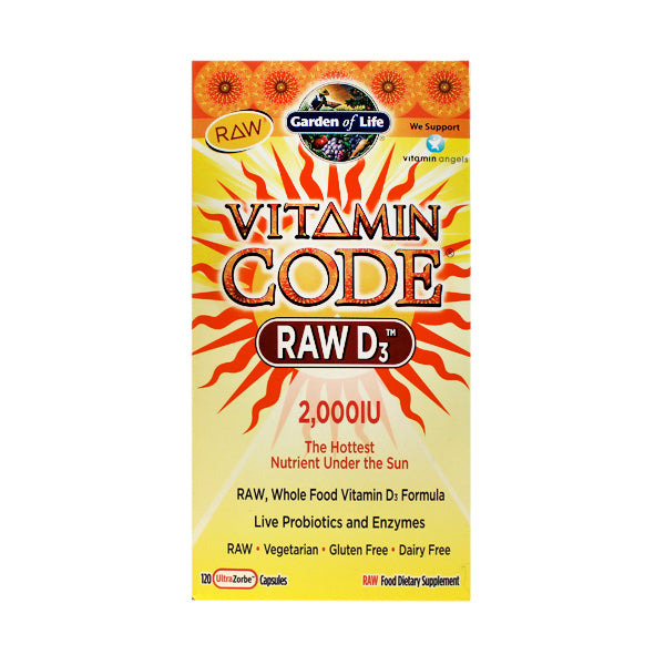 Primary image of Vitamin Code Raw D3 2000IU
