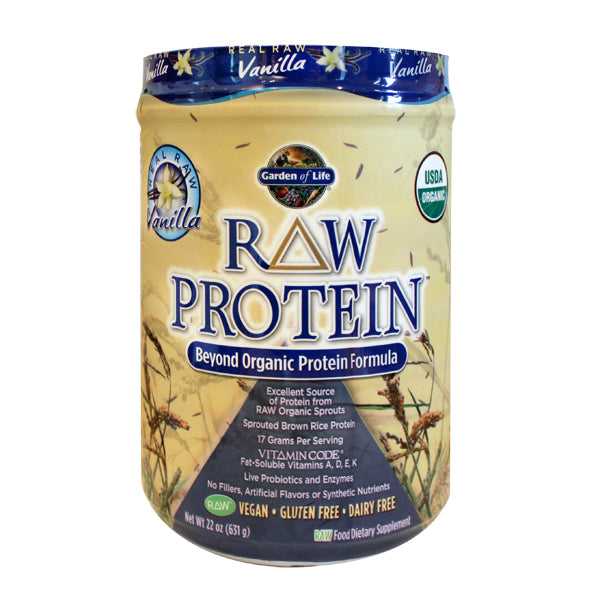 Primary image of Raw Protein Formula Powder - Vanilla