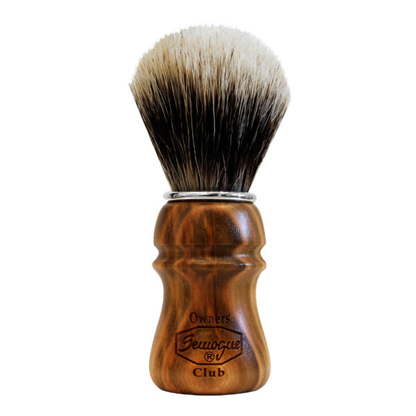 Primary image of Special Owners Club Cherry Wood Shave Brush - Badger