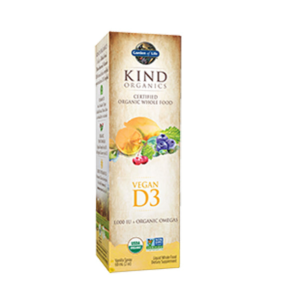 Primary image of Kind Organics Vegan D3 Spray