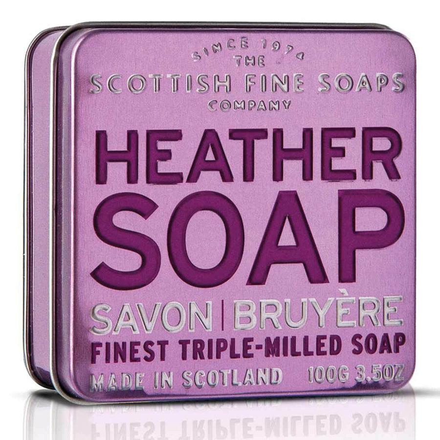 Primary image of Heather Soap in a Tin