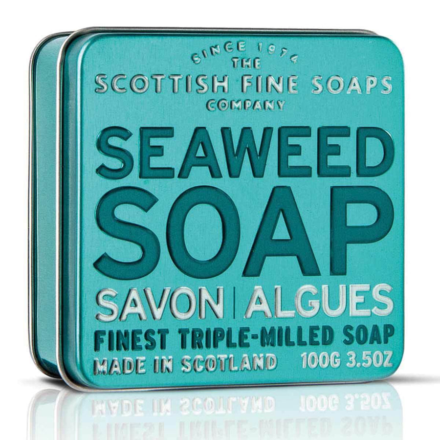 Primary image of Seaweed Soap in a Tin