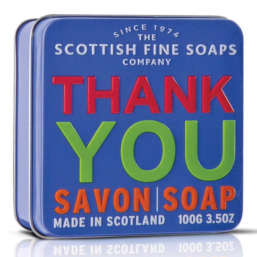 Primary image of Thank You Soap in a Tin