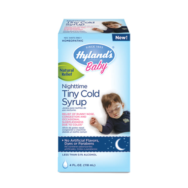 Primary image of Baby Tiny Cold Nighttime Cough Syrup