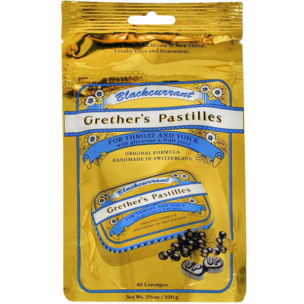 Primary image of Blackcurrant Pastilles Refill Bag