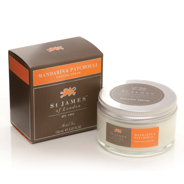 Primary image of Mandarin and Patchouli Shave Cream Tub