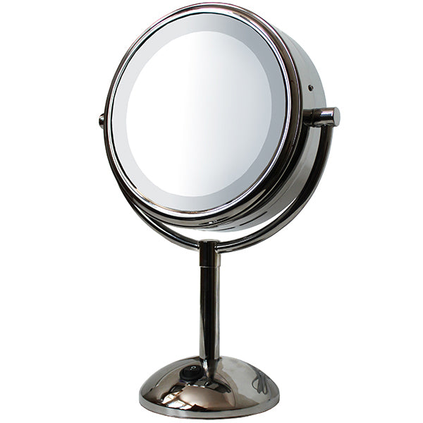 Primary image of Kingsley Lighted Round Vanity Mirror 8 inches Mirror