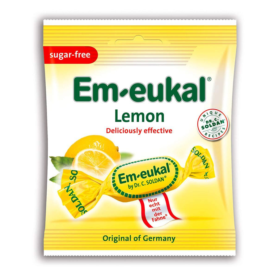 Primary image of Em-eukal Lemon Drops - Sugar-Free
