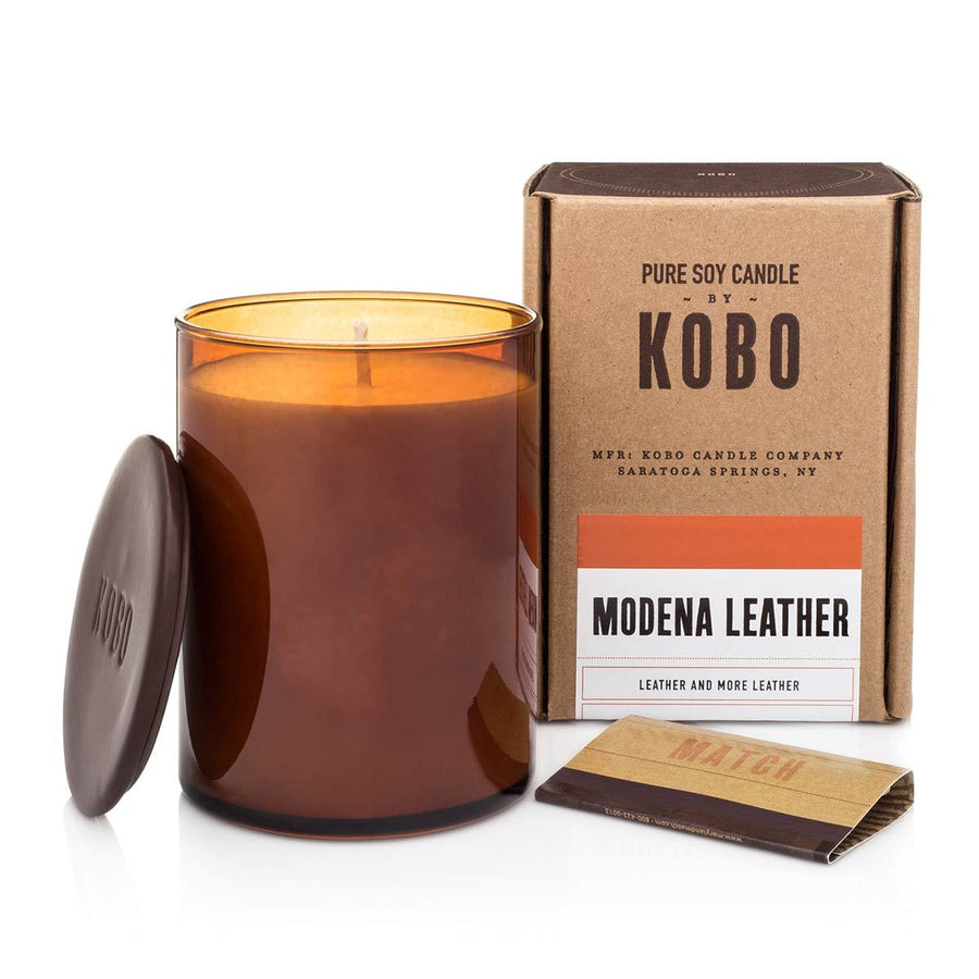 Primary image of Modena Leather Candle