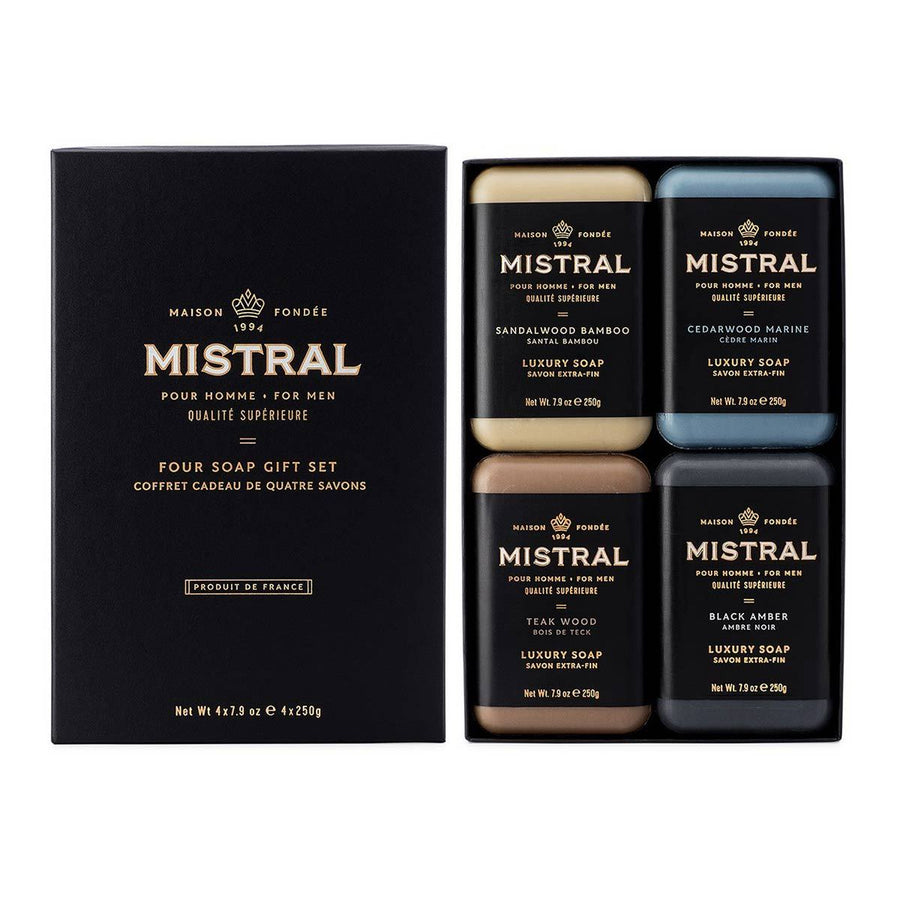 Primary image of Mens 4 Soap Gift Set