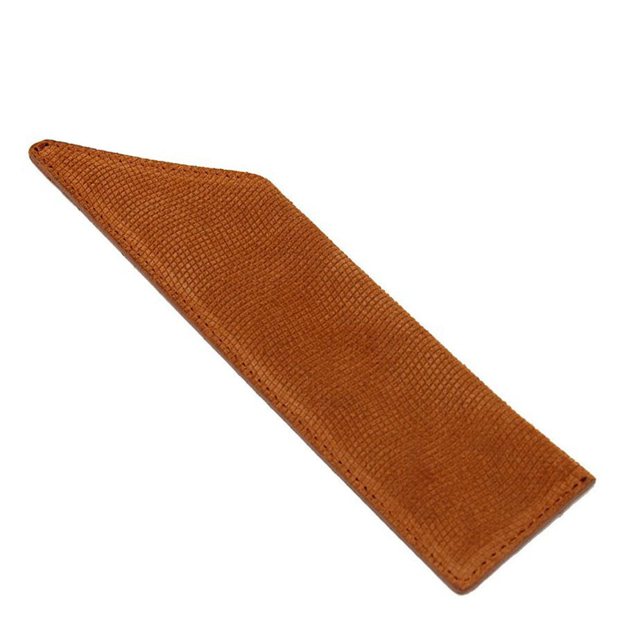 Primary image of Suede Vanity Comb Case - Tan