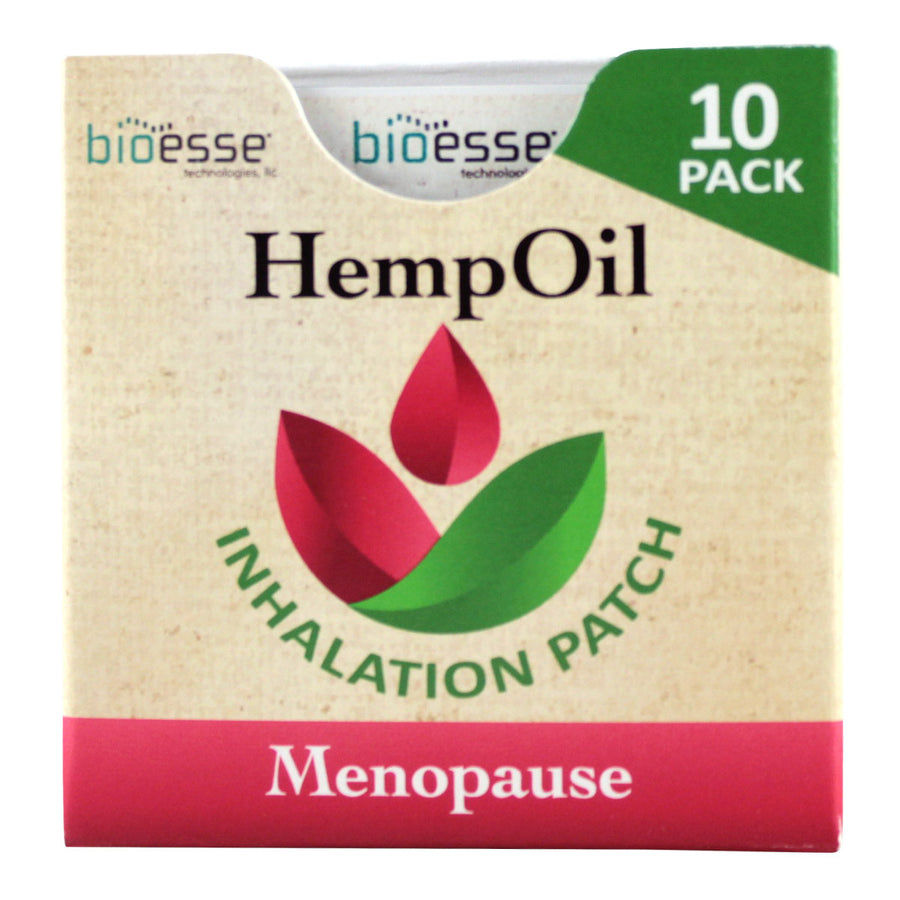 Primary image of Menopause Hemp Oil Inhalation Patches - 10 pack