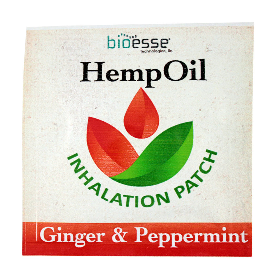 Primary image of Ginger + Peppermint Hemp Inhalation Patch
