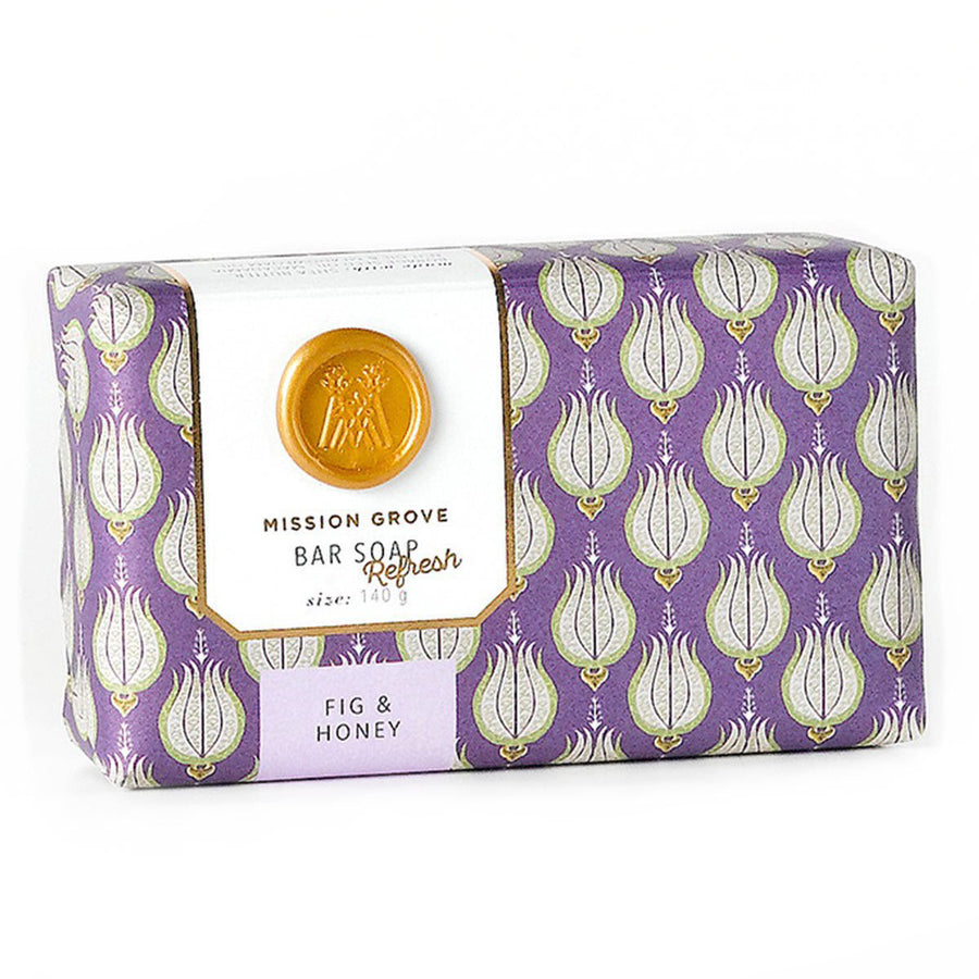 Primary image of Fig + Honey Bar Soap