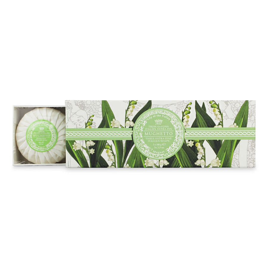 Primary image of Muguet - 3 Soap Set