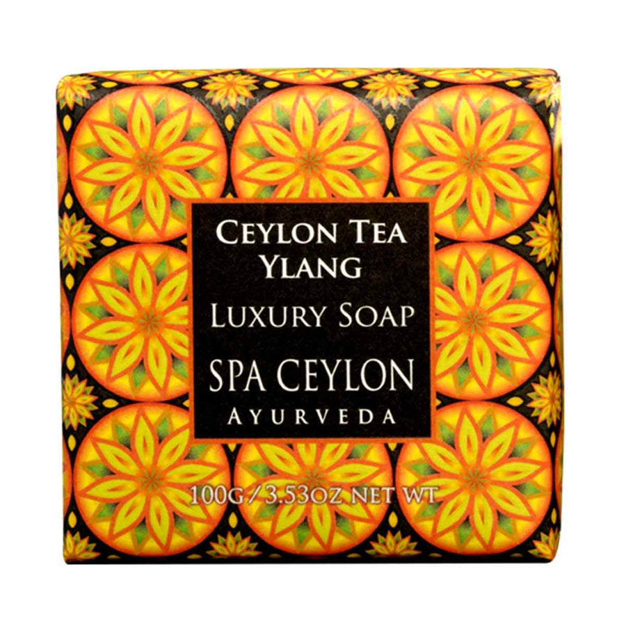 Primary image of Small Ceylon Tea Ylang Luxury Soap