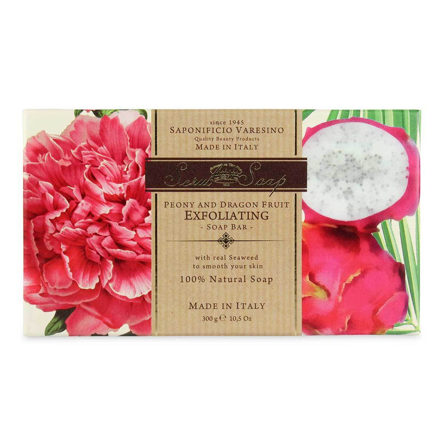 Primary image of Peony + Dragon Fruit Scrub Bar