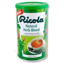 Primary image of Ricola Natural Herb Blend Instant Tea (Beverage Schweizer Krautertee)