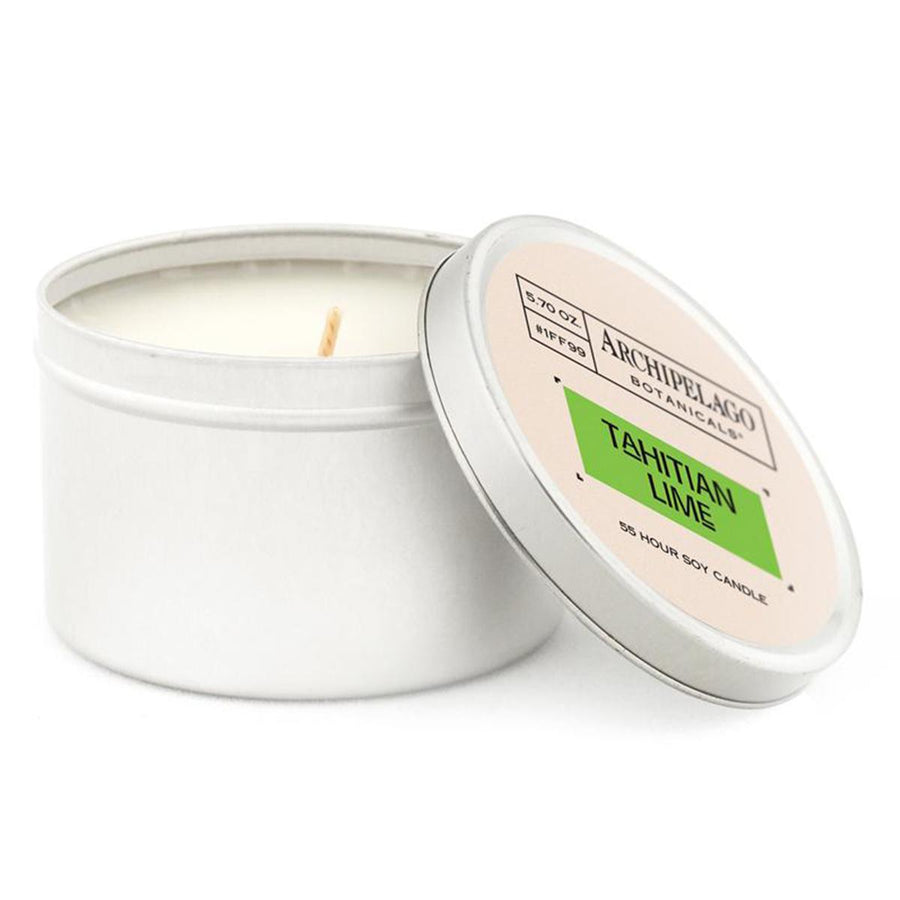 Primary image of Tahitian Lime Travel Tin Candle