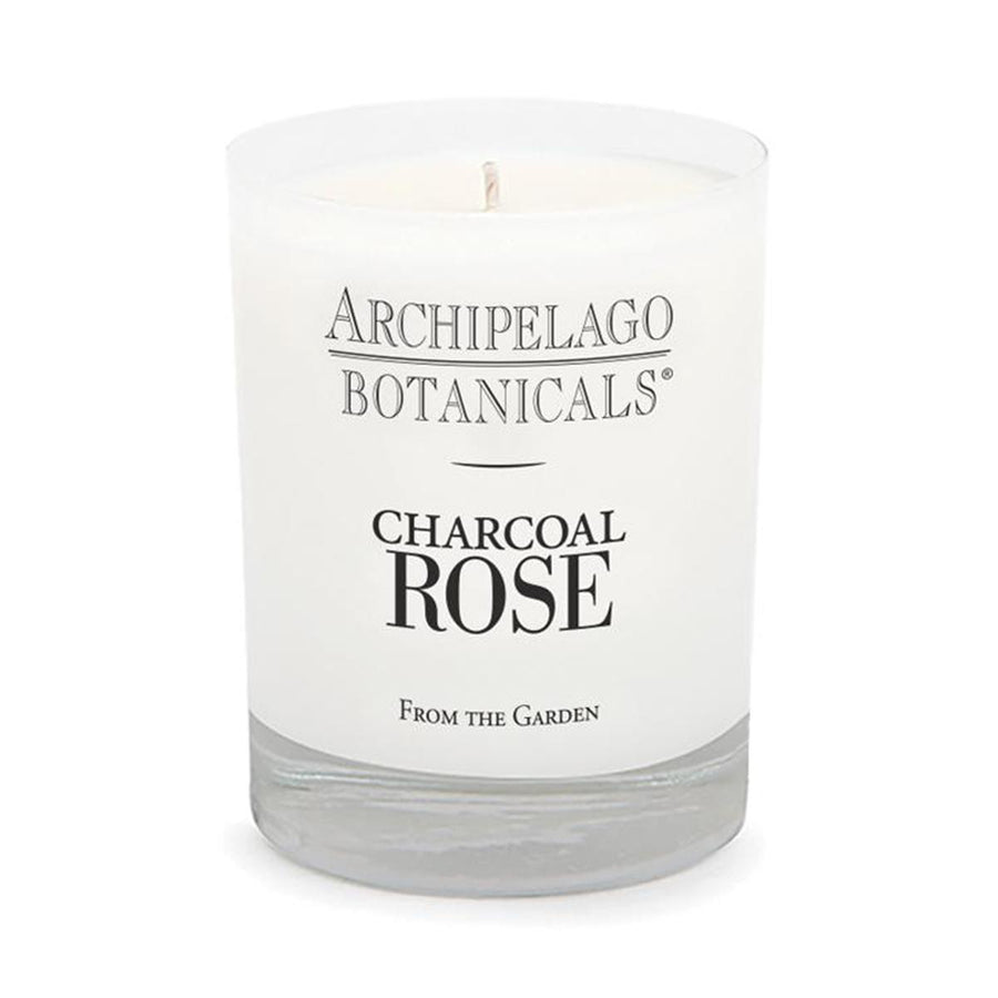 Primary image of Charcoal Rose Soy Glass Candle