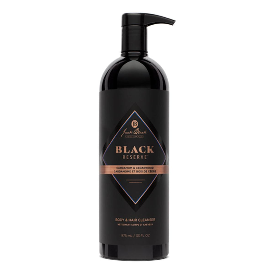 Primary image of Black Reserve Body Wash + Hair Cleanser - Cardamom + Cedarwood