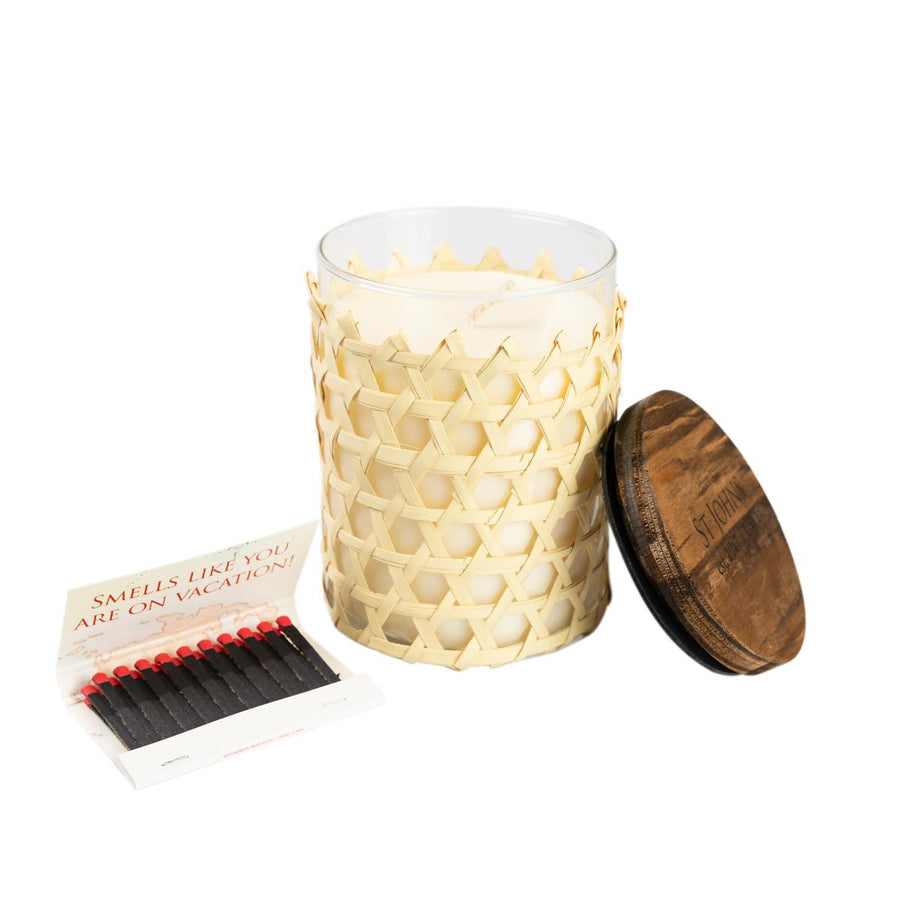Primary image of Bay Rum Soy Wax Candle