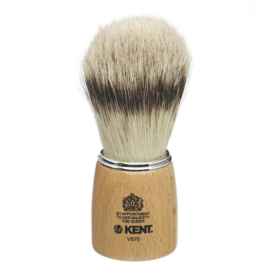 Primary image of Large Wooden Socket Pure Boar Shave Brush - VS70