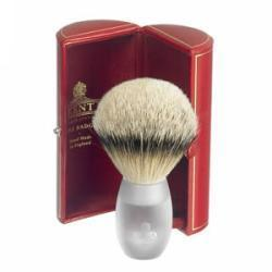 Primary image of Large Opaque Acrylic Silver Tip Badger Shave Brush - AP12