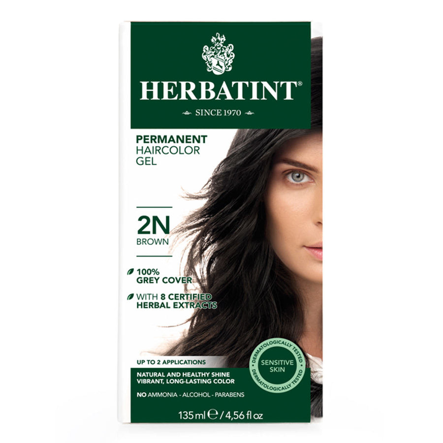 Primary image of 2N Brown Permanent Hair Color Gel