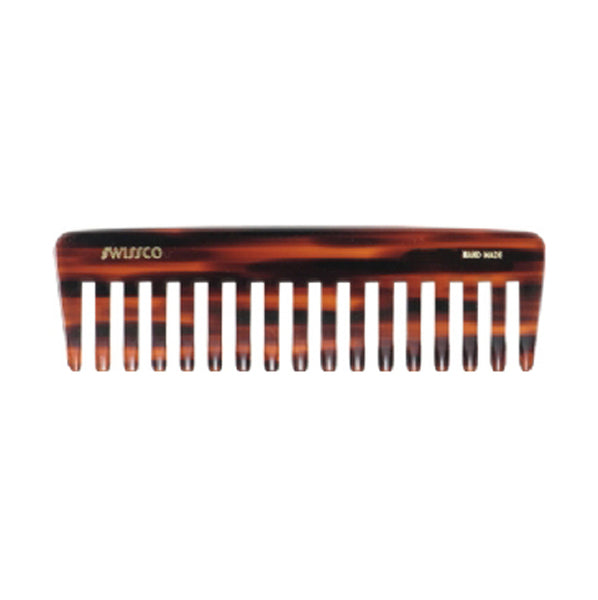 Primary image of Swissco Tortoise Wide Tooth Purse Comb 6 inches Comb