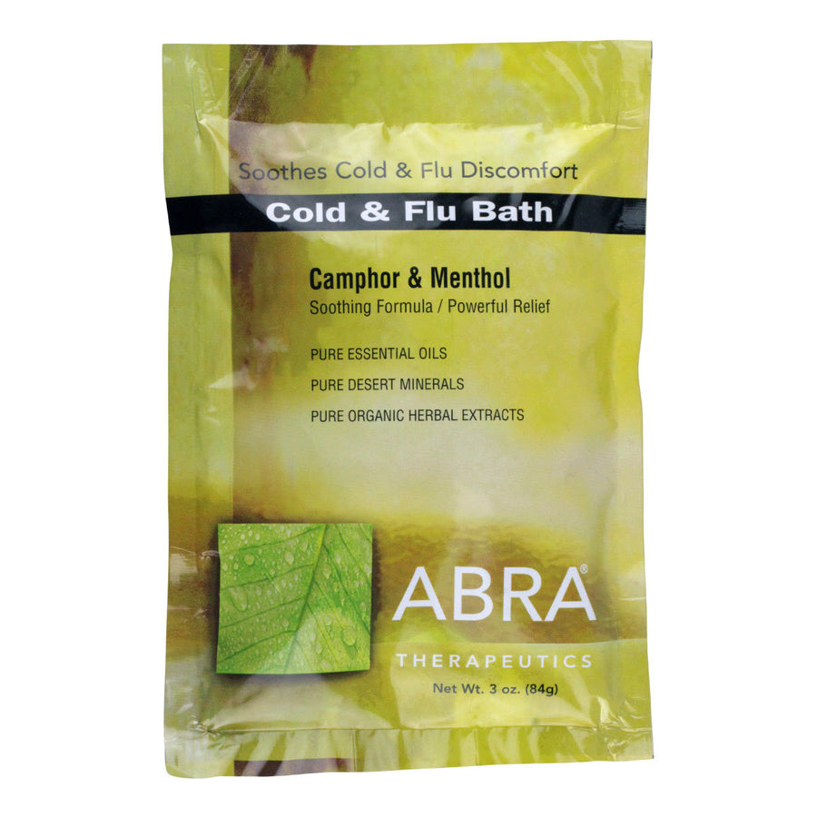 Primary image of Cold  Flu (Camphor + Menthol) Bath Salts