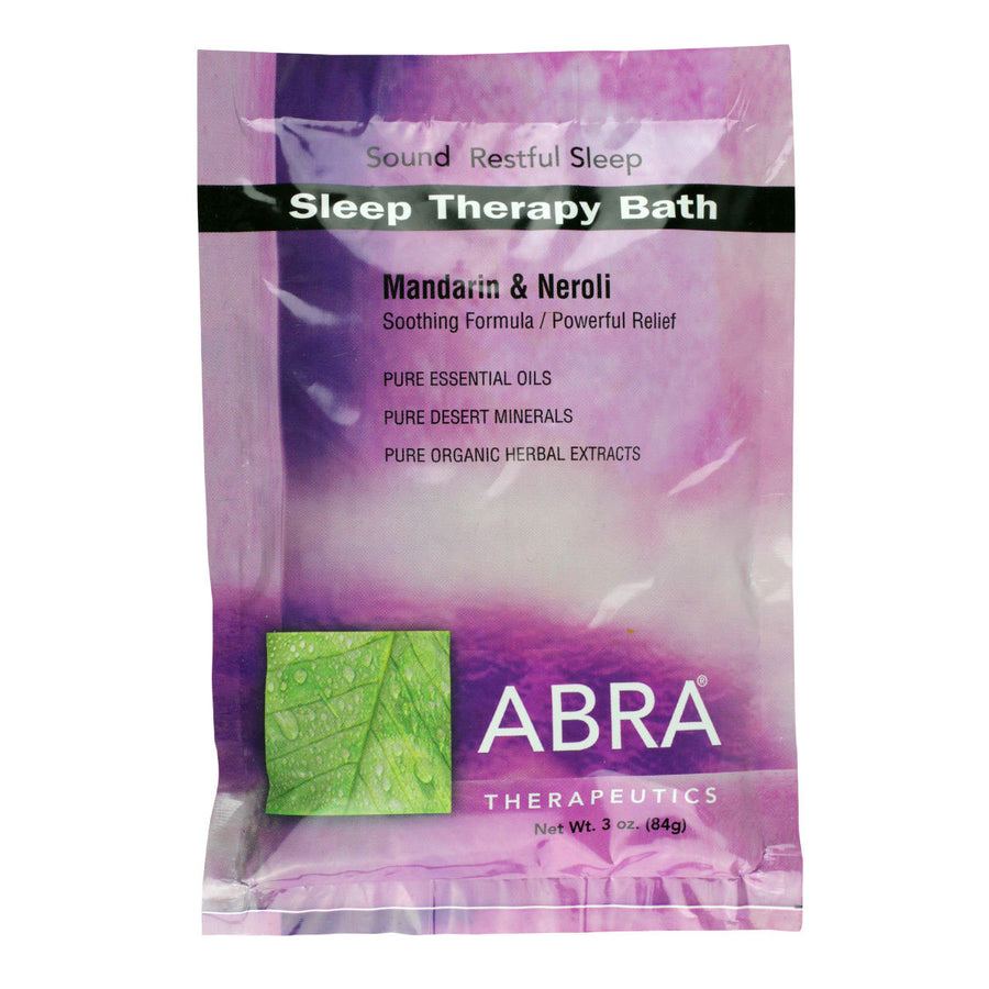 Primary image of Sleep Therapy (Madarin + Neroli) Bath
