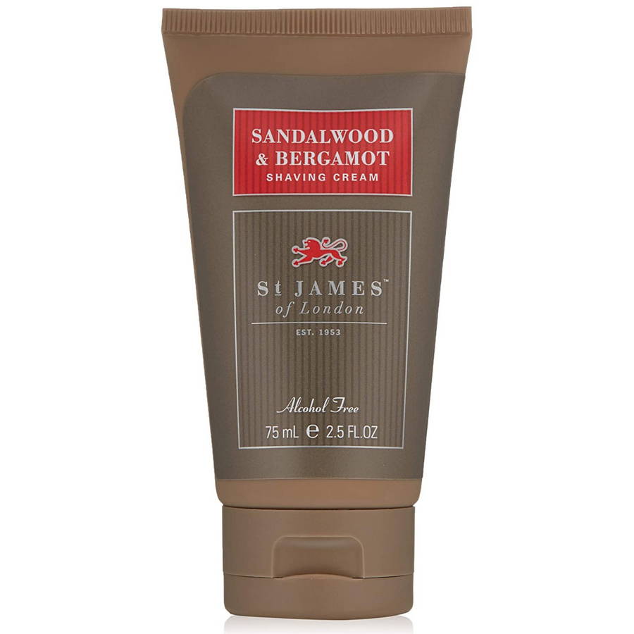 Primary image of Sandalwood Bergamot Travel Shave Cream