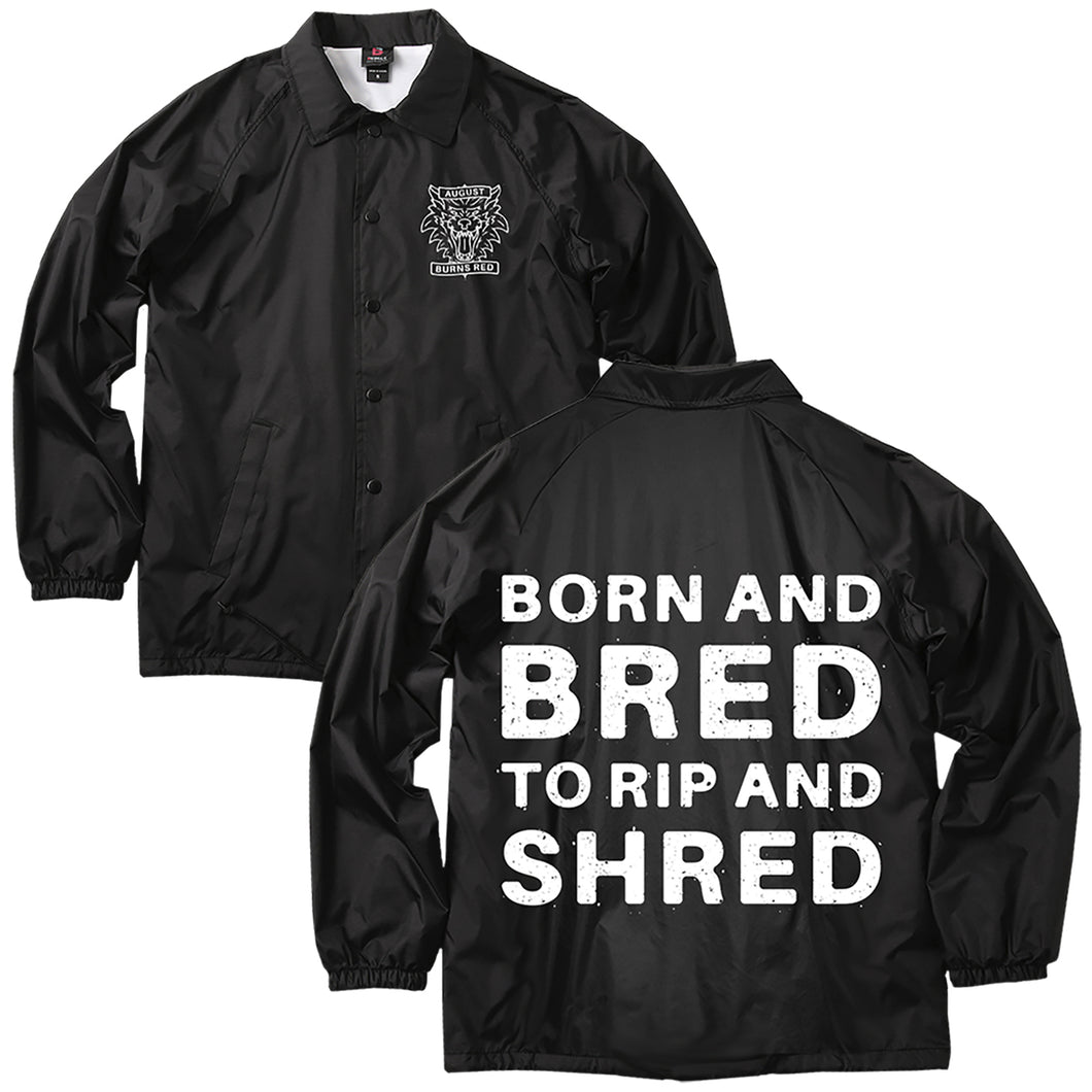 LIMITED Rip and Shred Windbreaker Jacket