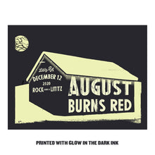 Load image into Gallery viewer, Christmas Burns Red 2020 Limited Edition Screen Printed Poster w/CBR 2020 Ticket