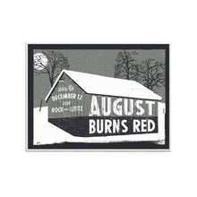 Load image into Gallery viewer, Christmas Burns Red Limited Edition Screen Printed Poster