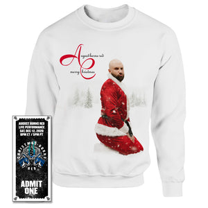 LIMITED Christmas Sweater w/ Christmas Burns Red 2020 Ticket