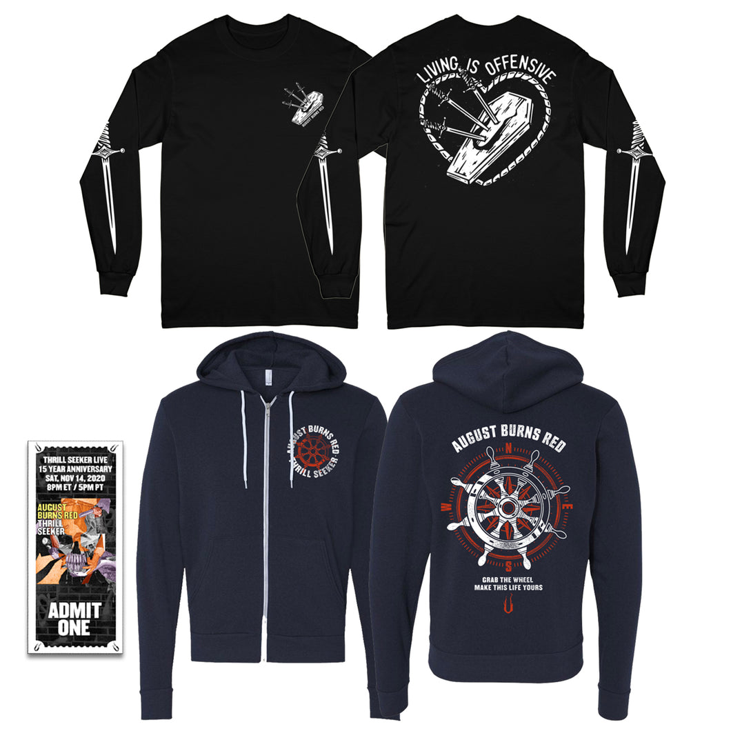 Cold Weather Bundle w/ Thrill Seeker Live Ticket