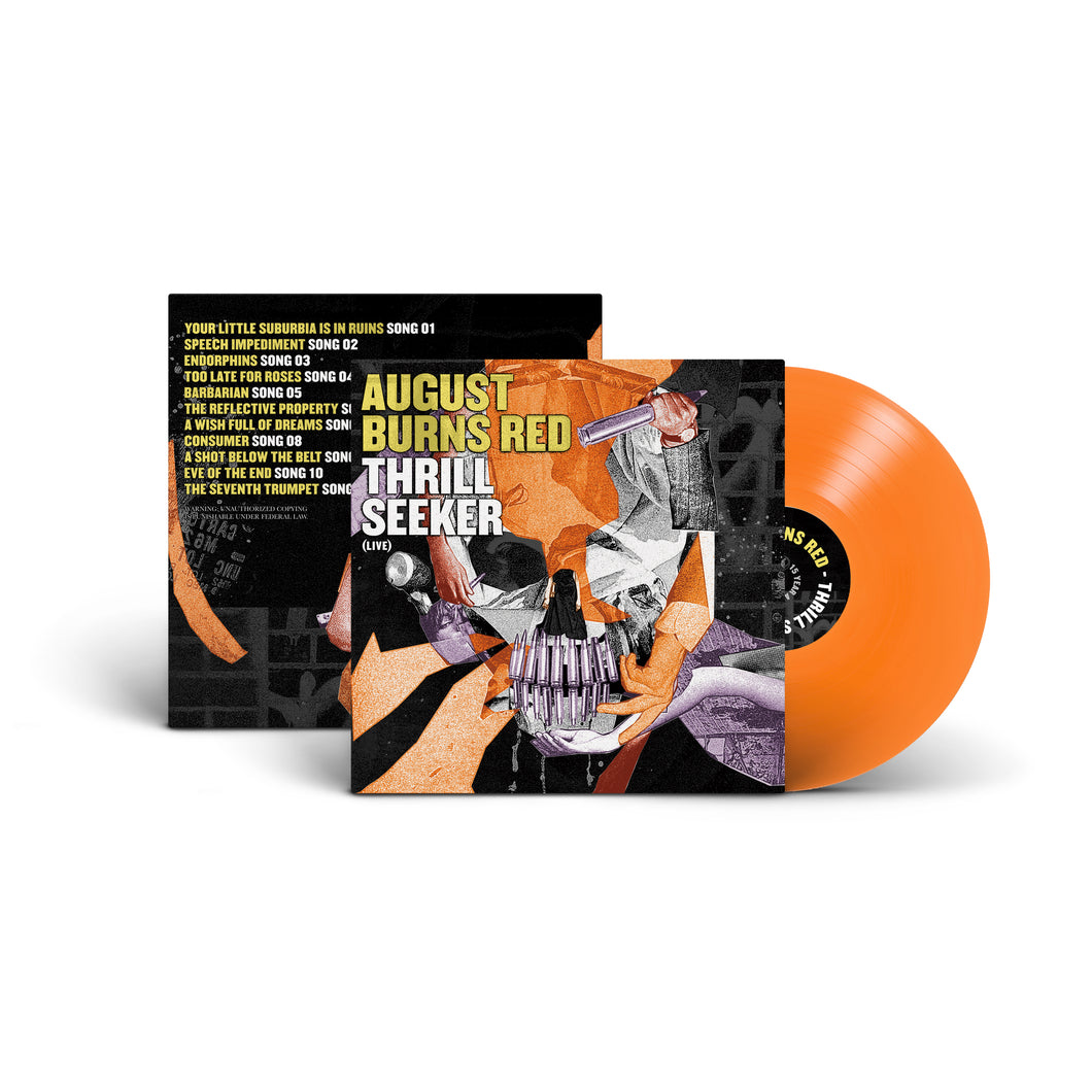 Thrill Seeker Live LP (ORANGE)