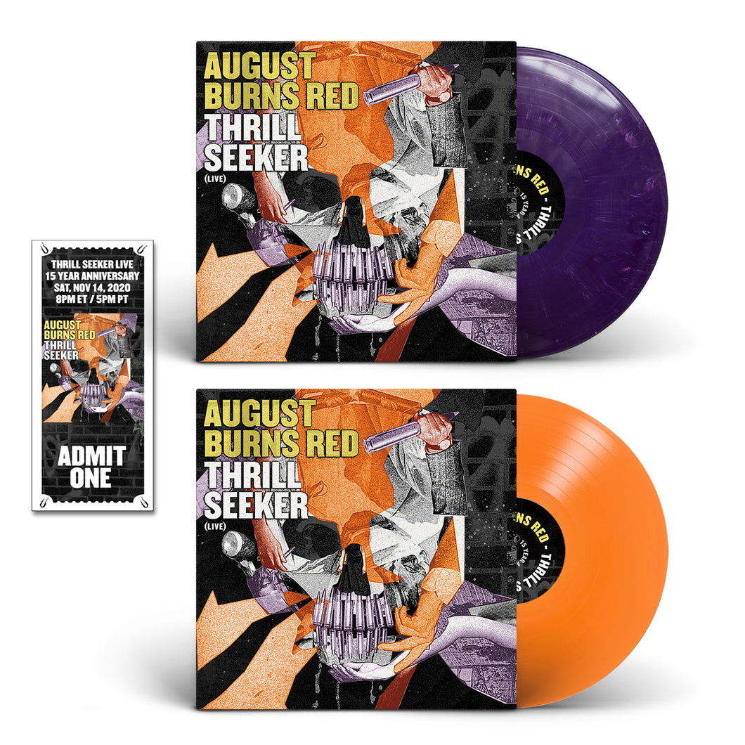 Thrill Seeker Live 2x Vinyl w/Thrill Seeker Live Ticket