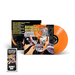 Thrill Seeker Live LP (ORANGE) w/Thrill Seeker Live Ticket
