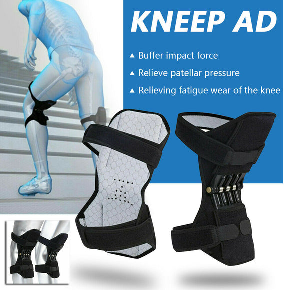 Joint Support Knee Pads Knee Protector Brace Support Powerful Rebound Spring Force Knee Booster Leg Protector Power Lift Joint