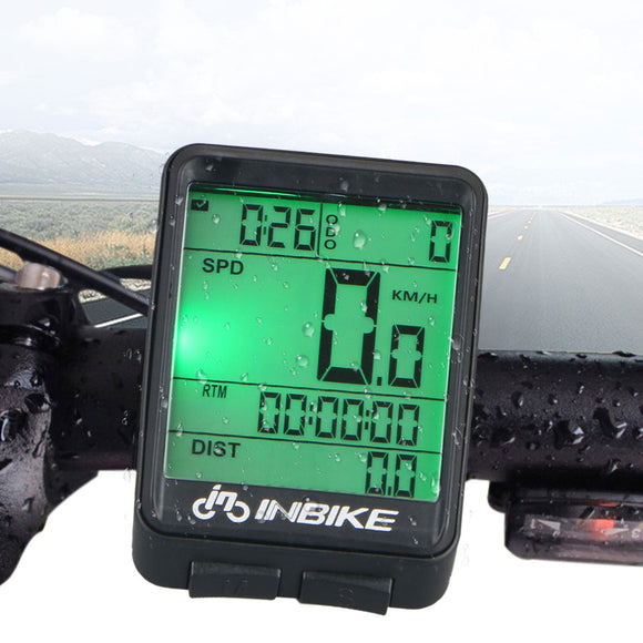Wireless bike speedometer Bicycle odometer Cycling Stopwatch Bike Computer