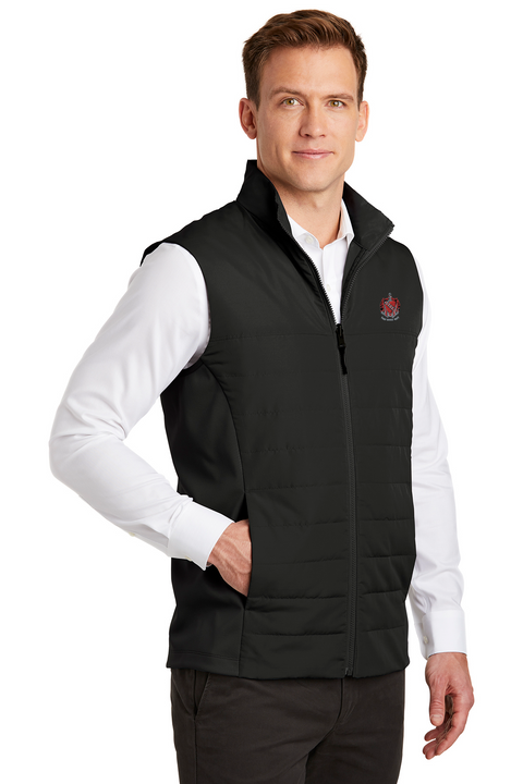 TKE Coat of Arms Insulated Vest