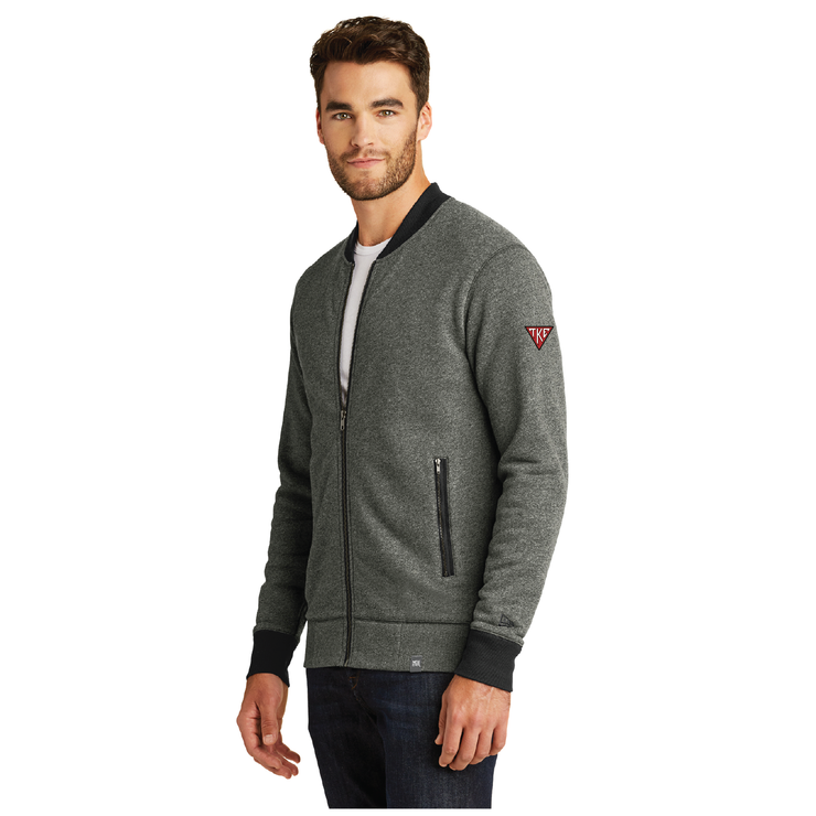 Limited Pre-Order TKE French Terry Baseball Full-Zip by New Era