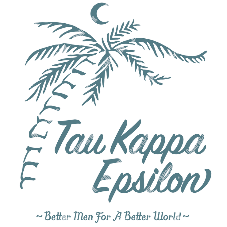 Tau Kappa Epsilon Palm Tree Design
