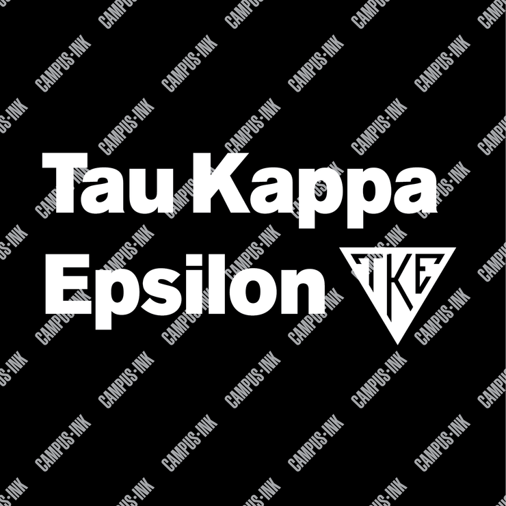 Tau Kappa Epsilon Triangle Wordmark Design