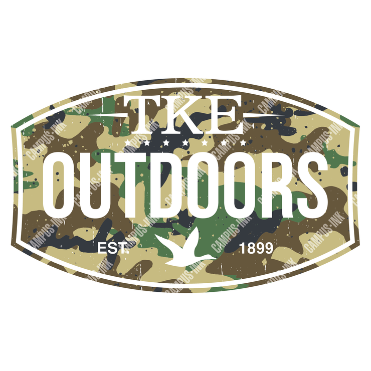 Tau Kappa Epsilon Outdoors Design